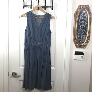 Joe Fresh Small Blue Dress Small